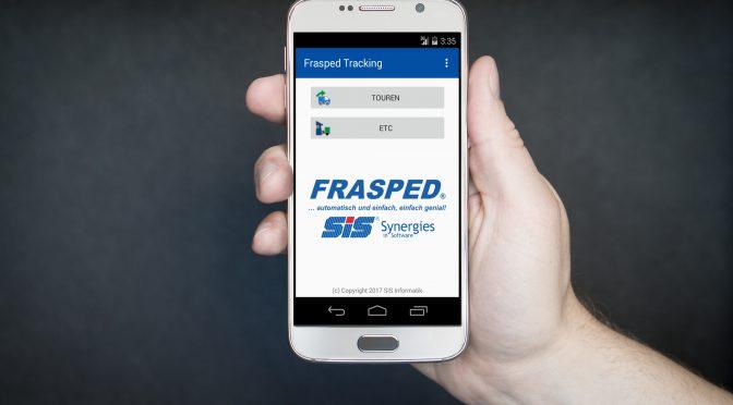 Probieren Sie es selbst aus: Sendungsverfolgung mit der Frasped Tracking Web App