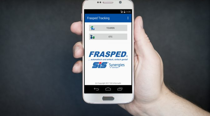 Sendungsverfolgung mit der Frasped Tracking App